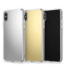 Ultra-Thin TPU Bumper Gel Protective Mirror Case Cover For Various Phone Model
