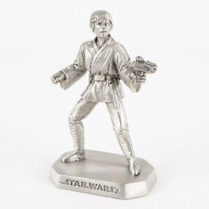 Luke Skywalker from A New Hope | 1990s Star Wars Figure by Rawcliffe Pewter