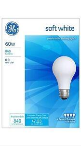48 Pack GE Light Bulb Soft White Incandescent - 60 Watt