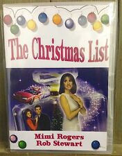 THE CHRISTMAS LIST - XMAS MOVIE CLASSIC MIMI ROGERS AND ROB STEWART [DVD]