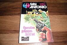 SAN ANTONIO  # 12 -- OPERATION GELUNGEN-ARZT TOT // der Kommissar aus Paris 1974