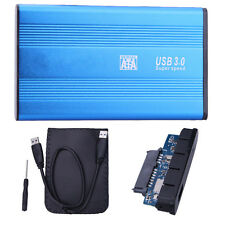 "USB 3.0 SATA 2.5"" pollici HD HDD Disco Rigido Alloggiamento Alluminio Case Box ni5l"