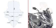 D6104ST GIVI Parabrezza Trasparente per Kymco XCiting S400i 2018