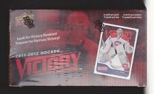 2011-12 Upper Deck Victory Hockey Factory Sealed BLASTER Box