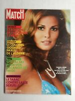 N849 Magazine Paris-Match N°1228 18 nov 1972 Raquel Welch, le colonel Godard