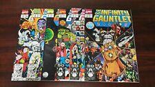 1991 MARVEL COMICS COMPLETE SET #1-6 INFINITY GAUNTLET HIGH GRADE SET KEY ISSUES