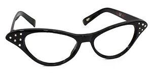 Hip Hop 50s Shop Child Cat Eye Glasses Poodle Skirt Halloween Costume Accessory