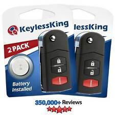 2 Replacement Remote Car Key Fob For Mazda 2 5 Cx 7 Cx 9 Bgbx1t478ske125 01 Fits Mazda