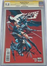 Uncanny X-Force #1 Signed Stan Lee Campbell Liefeld CGC 9.8 SS 1:50 RI Variant