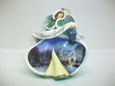 Thomas Kinkade Winter Angels of Light Ornament Evening Carolers 2005 Fifth Ed
