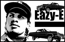 "Eazy-E ""Black Light"" Poster"