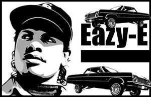 """Eazy-E """"Black Light"""" Poster"""
