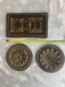 Manchester Trivet Trio Southern Living at Home Set 3 Ceramic Wall Hangings 41076