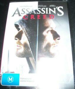 Assassin's Creed (Michael Fassbender) (Australia Region 4) DVD – New