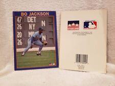 VERY RARE Bo Jackson 1989 Starline Birthday Card, Kansas City Royals, NICE!