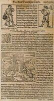 Von dem Deutschen Lande, Cosmographia Sebastian Münster, Holzschnitt
