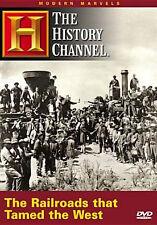 MODERN MARVELS: RAILROADS THAT TAMED THE WEST - DVD - Region 1 - Sealed