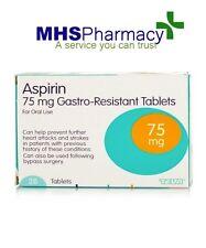 Aspirin 75mg ENTERIC COATED Tablets - 28 tablet