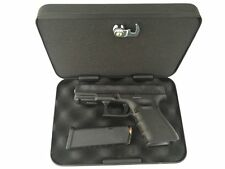 Gun Case FSDC pistol Metal Lockable hard box Safe bag storage lock secret key