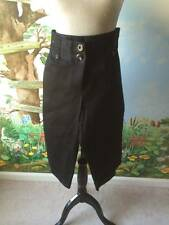 Ingredients Cropped Capri Career Black Pants Dressy Size 10 Cuffed Leg New