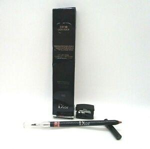 Christian Dior Contour Lipliner Pencil With Brush & Sharpener ~ 100 ~  0.04 oz
