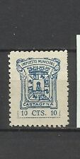1912-SELLO FISCAL LOCAL CARTAGENA IMPUESTOS 10 CTS