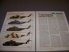 VINTAGE..SIKORSKY CH-53 SEA STALLION VARIANTS...5 COLOR PROFILES..RARE! (522P)