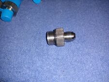 FHY Hydraulic Fitting, Connector Male to Male SC-14   316 SS ( lot of 5)