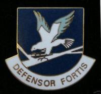 SECURITY FORCES POLICE HAT LAPEL VEST PIN UP US AIR FORCE DEFENSOR FORTIS VET
