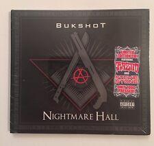 "Bukshot ""Nightmare Hall"" CD • Twiztid, Stevie Stone, ICP, Boondox, Jelly Roll"