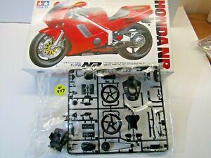 Tamiya 1:12 Scale Honda NR750 Sprue 'B' Black Parts Only