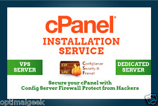 I Will Install CPanel WHM On Your Vps Or Dedicated Server