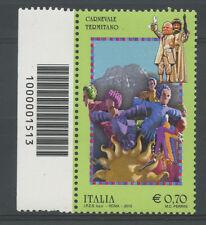 2013 - LOTTO/15466CB - CARNEVALE TERMITANO - CODICE A BARRE