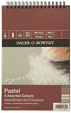 "Daler Rowney Ingres Pastel Pad Assorted Colour 9"" x 6"""