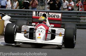 "Ayrton Senna 3 off 8"" x 12"" photos from F1 photographer"