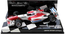 Minichamps Toyota F1 Showcar 2004 - Olivier Panis - 1/43 Scale