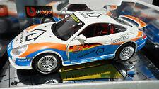 PORSCHE 911 GT3 CUP # 5 HOMELINK 1/18 BURAGO 3355 voiture miniature d collection