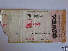 TORINO - COMO BIGLIETTO TICKET 1987 / 88