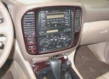 For Toyota Land Cruiser 1998 - 2002 Burl-Wood Dash Trim Kit Interior 19 Pcs