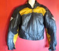 Veste moto de Hein Gericke moteur Style Noir Jaune Blouson de moto taille 40 nº 17