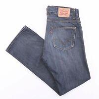 Vintage LEVI'S 506 Regular Stright Fit Men's Blue Jeans W36 L34
