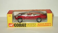 1:43 Corgi Toys Whizzwheels Marcos Mantis 1971 Made in Gt. Britain RARE