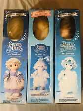 """Precious Moments Lizzy 18"""" Doll Kit Limited Edition 1985 Paragon Needlecraft lot"""
