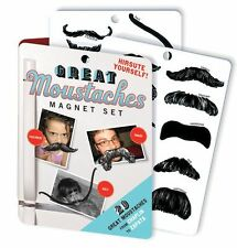 Set of 20 Magnetic Famous Moustaches, by Unemployed Philosophers Guild