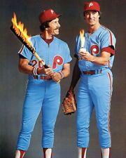 MIKE SCHMIDT STEVE CARLTON 8X10 PHOTO PHILADELPHIA PHILLIES BASEBALL PICTURE MLB