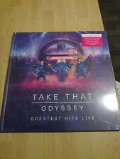 Take That - Odyssey Greatest Hits Live - DVD + Bluray + 2 CD + Photobook - NEW