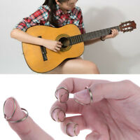 8 Picks Fashion Butterfly Finger Picks Thumb Original Fingerstyle Guitar UK