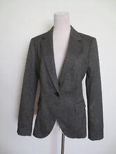 Business Jacke Blazer ZARA L ca 38 40 Salz Pfeffer schwarz grau NEU /K