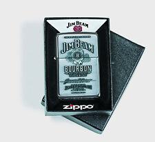 ZIPPO Jim Beam LABEL Chrome PLATTE Emblem KLASSIKER 60000685 NEU+OVP Wiskey