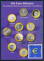 BUND MK 2002 EURO-EINFÜHRUNG PRIVATE !! MAXIMUMKARTE CARTE MAXIMUM CARD MC bt17